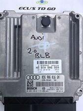 AUDI A4 B7 S-LINE 2.0 TDI IMMOBILISER OFF  03G906016GN ; 03G906016 GN
