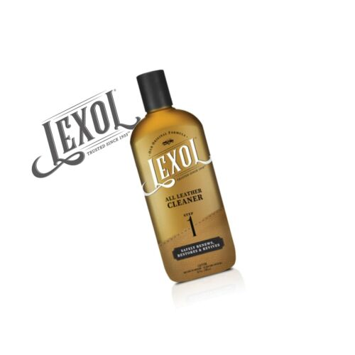 Lexol Leather Cleaner Furniture pH-balanced for Use on Leather Apparel Aut...