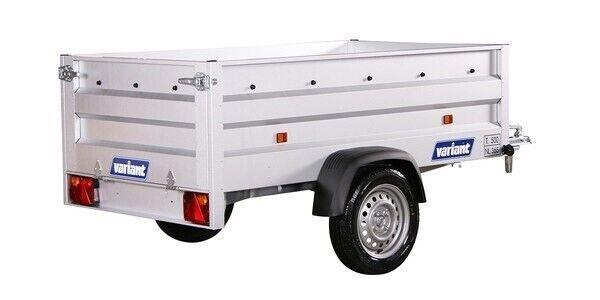 Ladtrailer, Variant 205 XL, lastevne (kg): 367