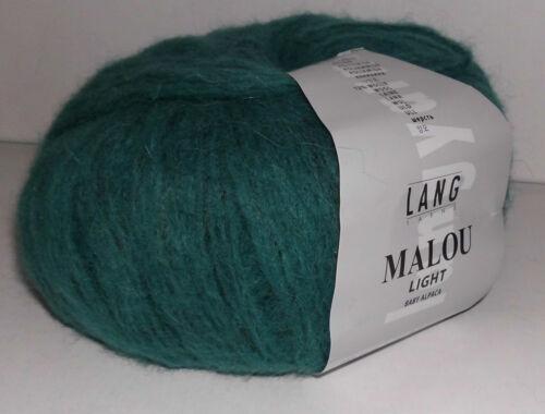 Malou light von Lang Yarns Handstrickgarn Alpaka