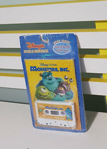 MONSTERS-INC-BOOK-AND-TAPE-PACK-SEALED-IN-PLASTIC-STORY-BOOK-WITH-TAPE-AND-CD