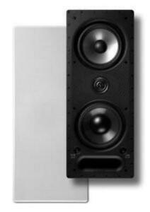 Polk-Audio-265-LS-White-Rectangular-High-Performance-In-Wall-Speaker