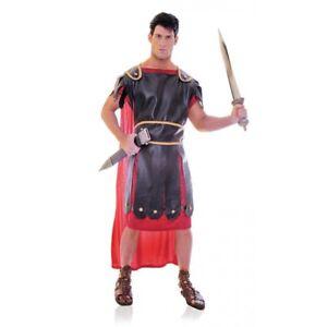 Image is loading Centurion-Roman-Warrior-Costume-Adult-Toga-Gladiator -Velvet-  sc 1 st  eBay & Centurion Roman Warrior Costume Adult Toga Gladiator Velvet Red Toga ...