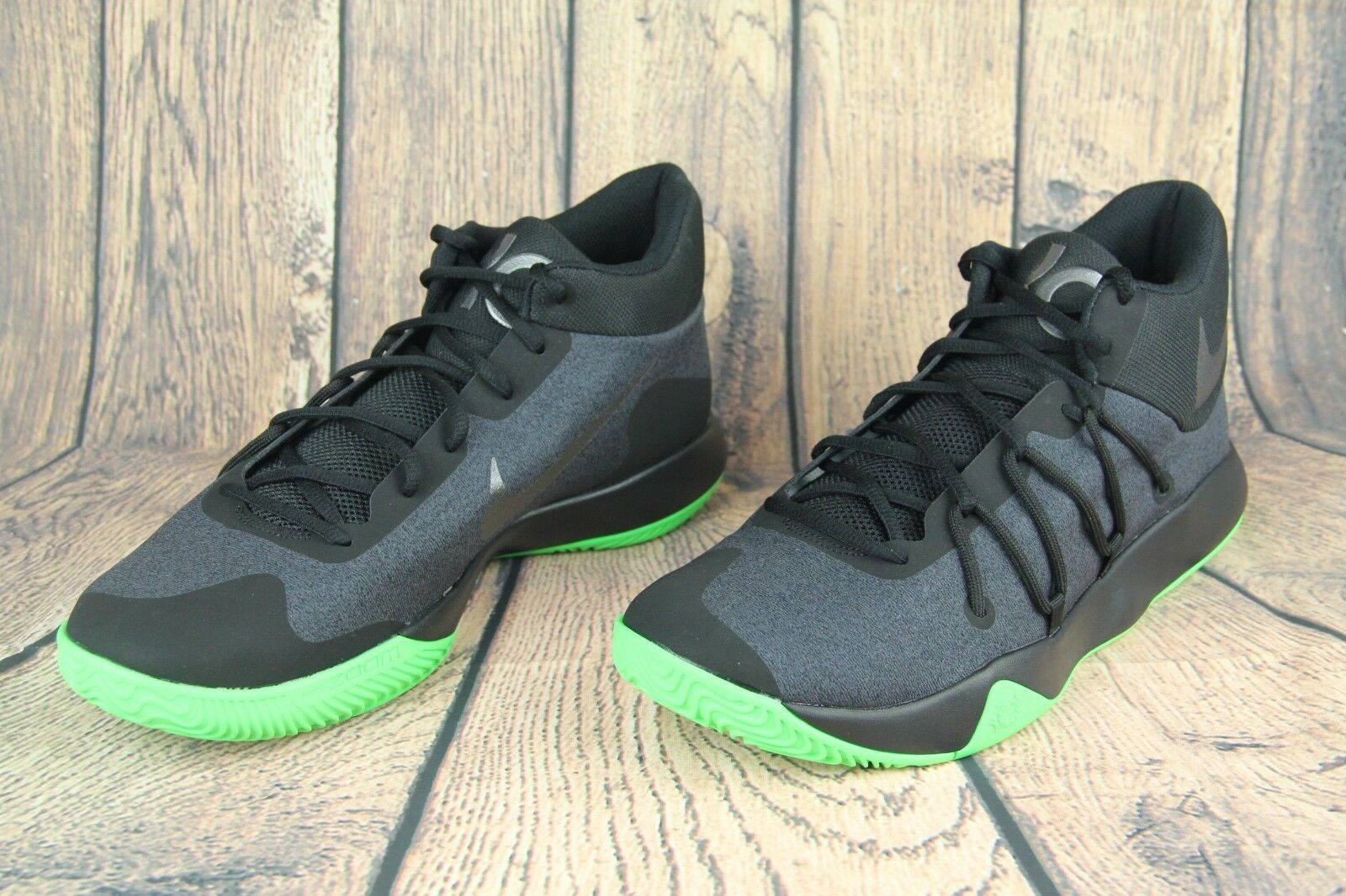 Nike kd trey v scarpe da basket di rabbia nera verde nero 897638-003 Uomo sz 11