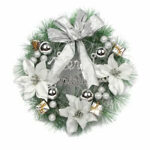 30cm-Hanging-Christmas-Wreath-Decor-Xmas-Home-Party-Door-Wall-Garland-Ornaments