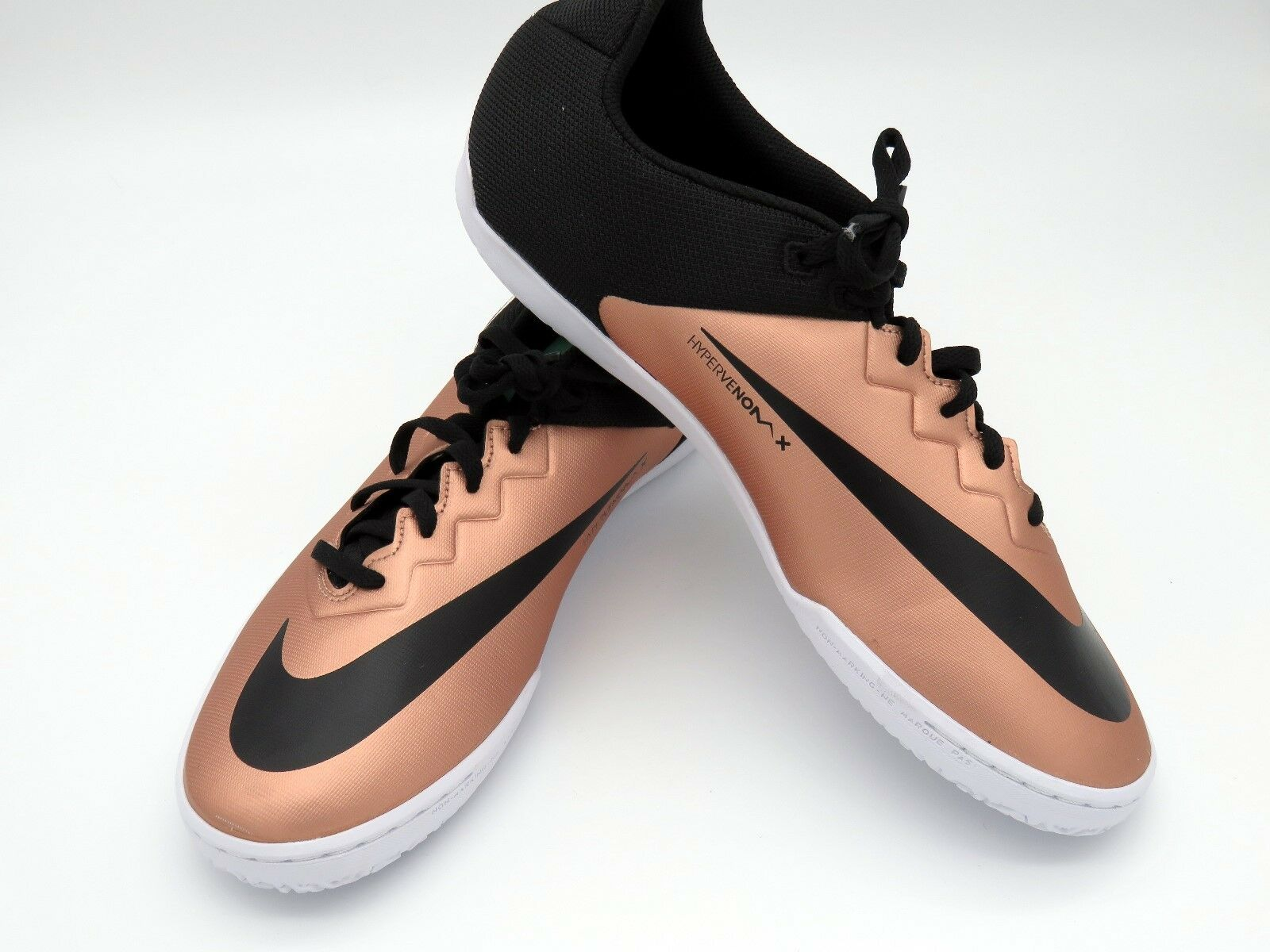 Seasonal price cuts, discount benefits Nike HypervenomX Pro IC Men's Indoor Soccer 749903-903 Bronze Comfortable