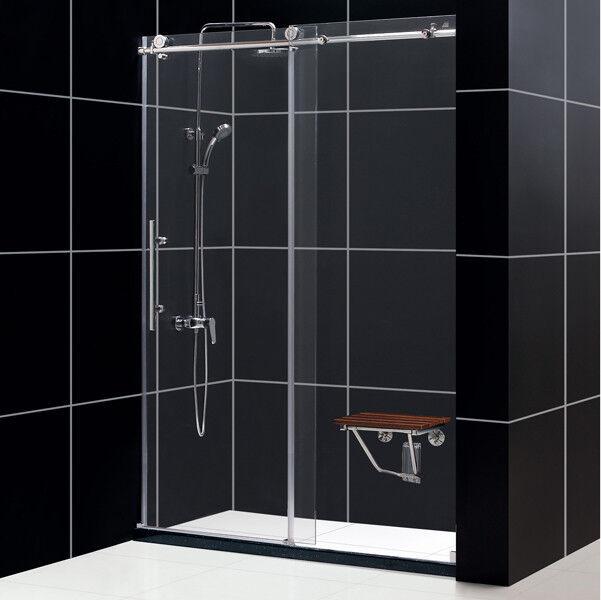 Dreamline Shdr 61607610 07 Frameless Sliding Shower Door 56 To 60 By 76 Clear 3 Ebay