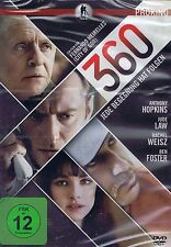 DVD NEU/OVP - 360 - Jede Begegnung hat Folgen - Anthony Hopkins & Jude Law