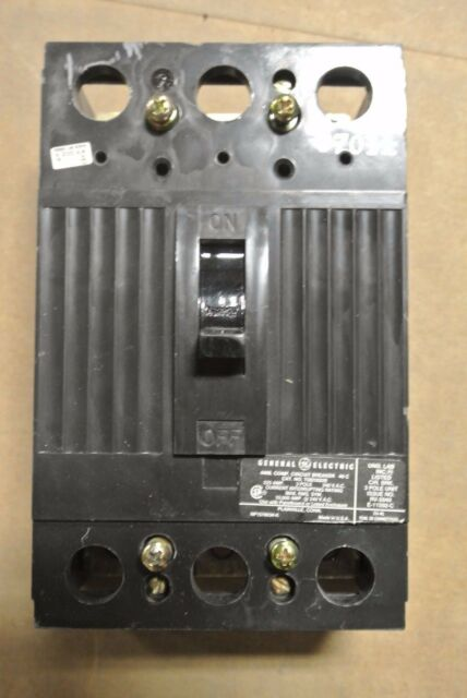 GENERAL ELECTRIC 225A 3 POLE CIRCUIT BREAKER TQD32225