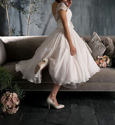 2015 Neue reizvolle kurze Spitze Kleid Brautabend-Brautjungfer Kleid Brautkleid