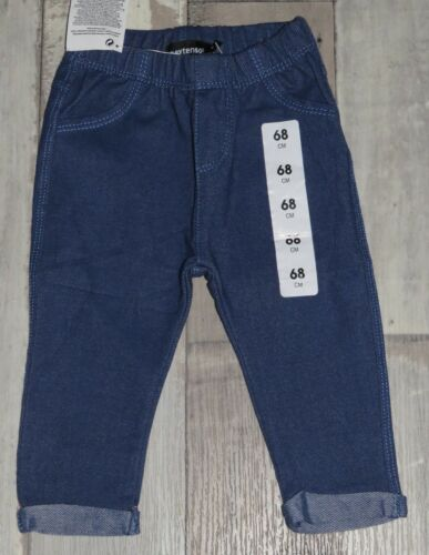 ~ Pantalon Legging bleu IN EXTENSO mixte 6 mois 68cm NEUF ~ MAN175//176