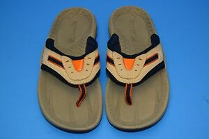 64965259b7 Image is loading SPERRY-TOP-SIDER-THONG-SANDALS-LEATHER-WAR-EAGLE-