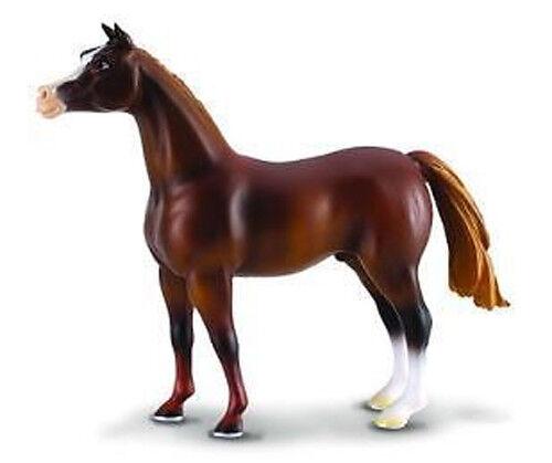 RETIRED *NEW* CollectA 88099 Arabian Stallion Horse Chestnut Brown 14cm
