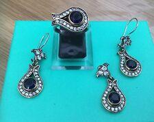 925 Sterling Silver Gioielli Set
