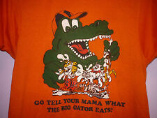 Vintage 80s Florida Gators Go Tell Your Mama What The Big Gator Eats T Shirt S