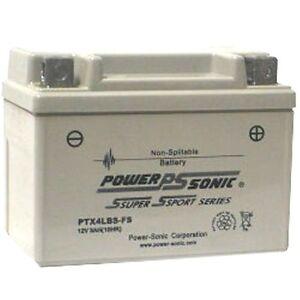 Batterie Für Exide 1.8kg 12v 3ah 35cca Versiegelt Ptx4lbs-fs Reine WeißE Akkus Tv, Video & Audio