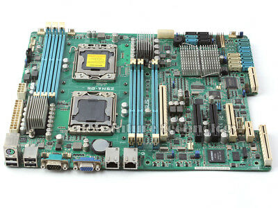 Asus Z9NA-D6C Intel C602 Server Motherboard LGA1356 Workstation DDR3 ATX Test OK