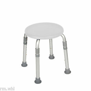 Beautiful Image Is Loading Height Adjustable Round Shower Stool Seat Chair Medical