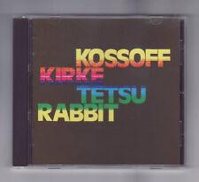 (CD) KOSSOFF / KIRKE / TETSU / RABBIT - S/T / Japan Import / PHCR-18756