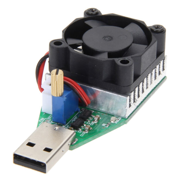 15W 3.7-13V Industrial Electronic Load Resistor USB Discharge Battery Tester Hot