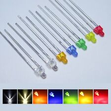Led 0 332in Diffuse And Clear Short Head Miniature Leds 7 Colours Amount Set