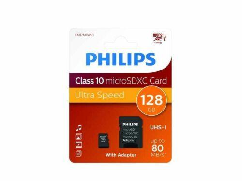 Speicherkarte PHILIPS Micro SD Karte Class 10 Card 8GB 16GB 32GB 64GB 128GB