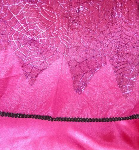 Dolci Strega Streghe Rosa Costume 98-104-110-116-122 RAGNO RAGNATELA COSTUME GLITTER