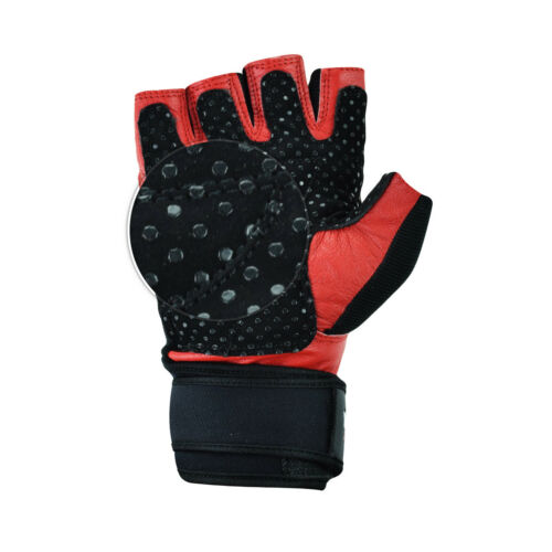 GEL TRAINING GLOVES BODYBUILDING FITNESS WORKOUT POWER LIFTING GYM