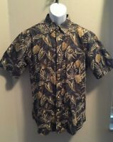 Mens David Taylor Collection Shirt Size M Short Sleeve