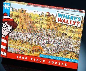 Ou-Est-Wally-The-Dernier-Jours-de-Azteques-1000-Piece-Jigsaw-680mm-x-480mm-Pl