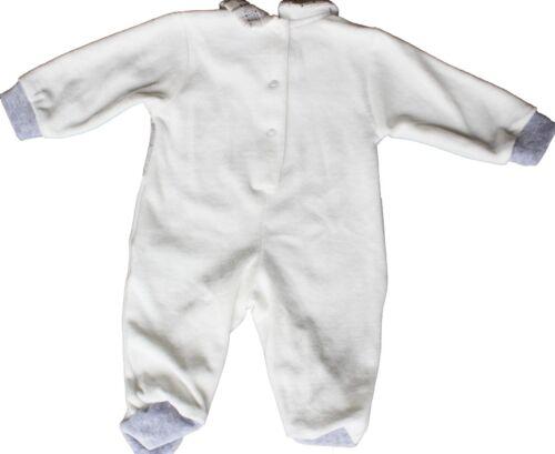 TUTINA CINIGLIA NEONATO BABY FINTO GILET E CRAVATTINO TAGLIE 0//12 MESI 716