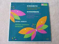Hindemith/Schoenberg - Chicago Symphony - Kubelik - MERCURY HiFi  (0331)