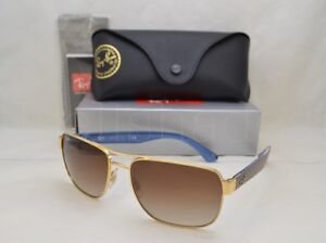 4fd9b63a818 Ray Ban RB3530 (RB3530-001 13 58) Gold with Brown Gradient Lens ...