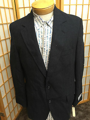 Intenzionale J.weston Ltd Habersham Lana Grigio Righe Sport Cappotto Giacca Blazer 41r Facile E Semplice Da Gestire