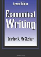 Economical Writing by Deirdre N. McCloskey (1999, Paperback)