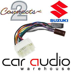 Connects2 CT20SZ02 Suzuki Swift 05> Car Stereo Radio ISO Harness ...