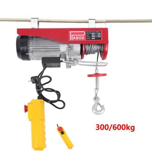 600-1000KG Elektrische Seilwinde Motorwinde Hub  Seilzug Winde Seilhebezug Kran