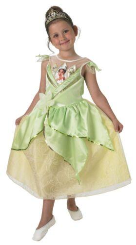 Disney Prinzessin Kinder Kostüm Tiana mit Diadem Rub