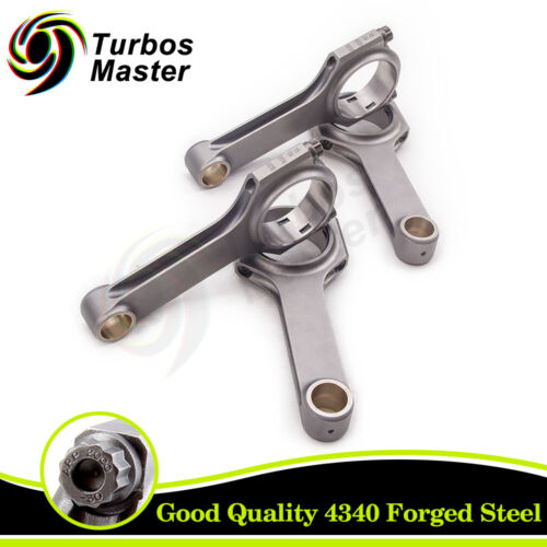Forged Connecting Rods for Mazda MX5 MX-5 Miata B6 BP 1.6 1.8 Conrods ARP Bolts