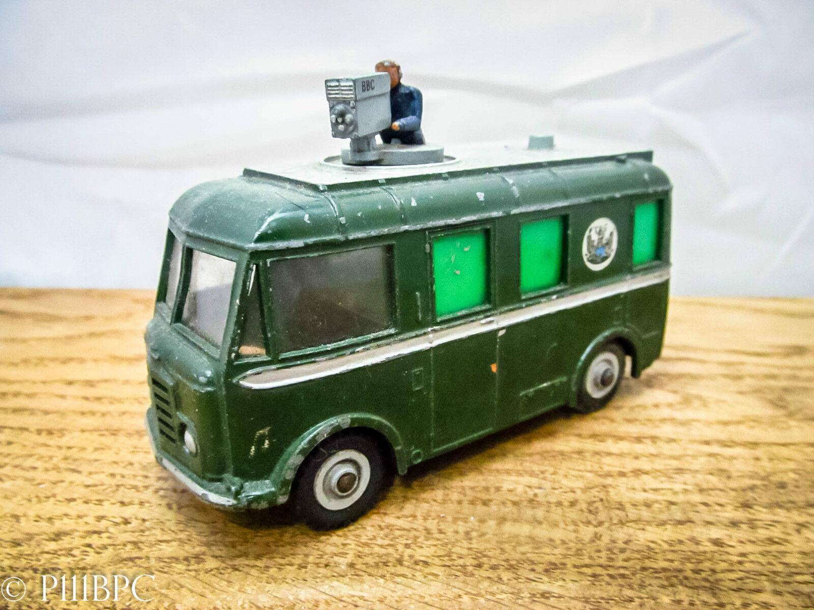 Dinky 968 bbc tv roving eye véhicule-great vintage original meccano  ancien rétro  marque