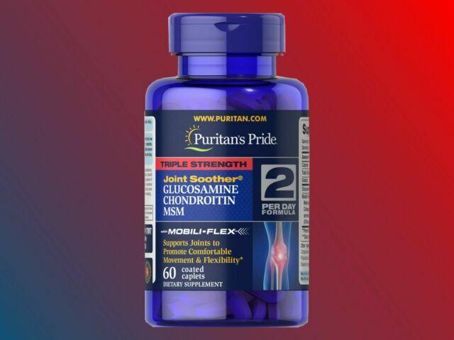 Glucosamine Chondroitin MSM, 1500mg, 90 coated caplets