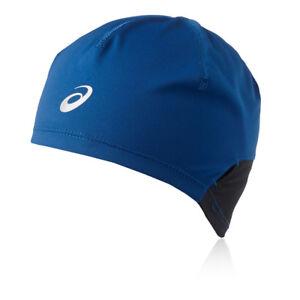 Asics-Unisexe-Bleu-Hiver-Chaud-Running-Sports-Head-Wear-Bonnet