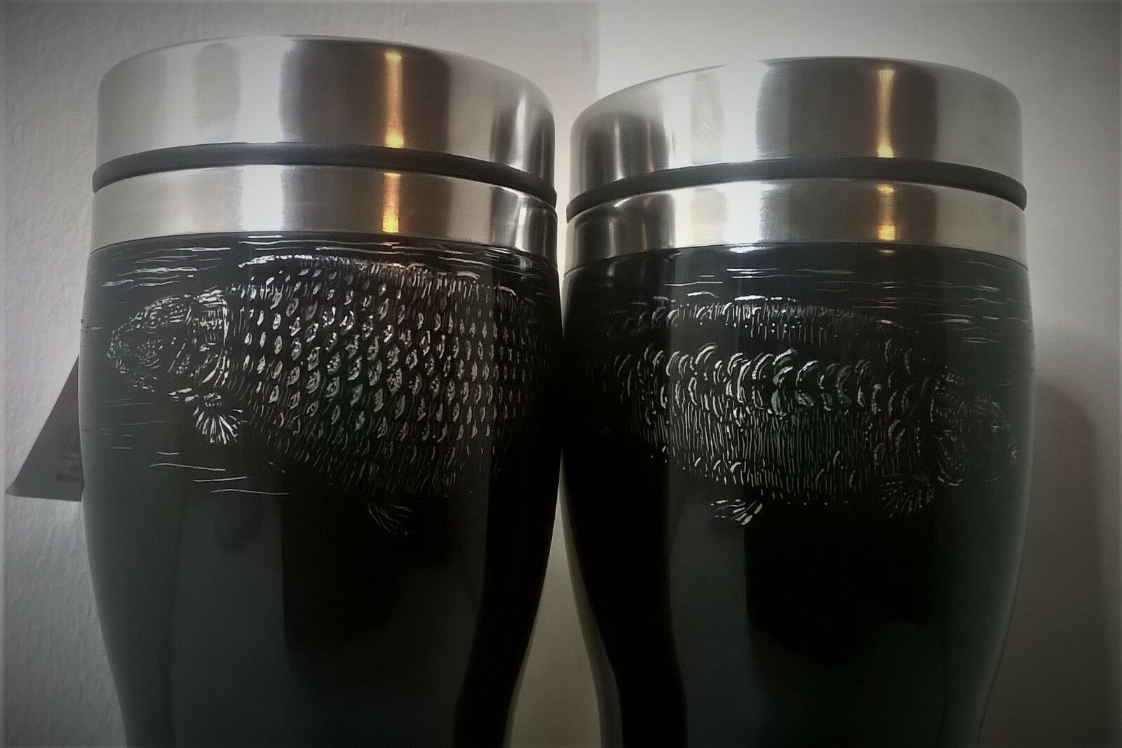 Carpy Kettles Insulated mugs hand engraved with a choice of beautiful designs