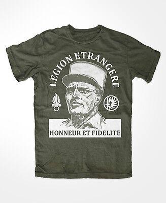 France, Légion etrangere m3 T-shirt Olive enmilieu PATRIA NOSTRA étranger Légion