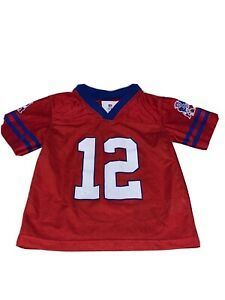 Details about NFL Team Apparel Tom Brady #12 New England Patriots NFL Football Jersey Size 4T