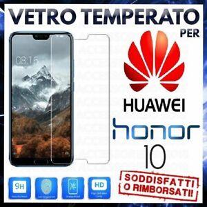 PELLICOLA-IN-VETRO-TEMPERATO-Per-HUAWEI-HONOR-10-2018-Protezione-Schermo-Display