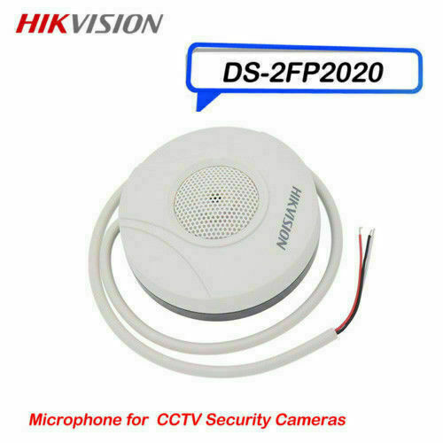 Hikvision Microphone DS-2FP2020 Hi-Fi Mic Audio Pickup for CCTV Security Camera