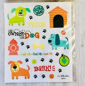 2 Sheets Foil Fire Truck Fighter  Planner Stickers Papercraft Envelope Seals