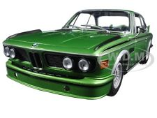 1975 BMW 3.0 CSL (E9) COUPE GREEN LTD ED 504PCS 1/18 CAR BY MINICHAMPS 180029024