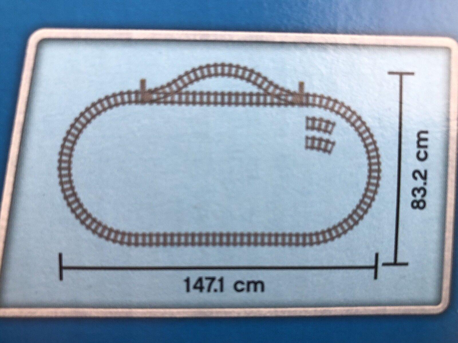 Lego 60052 Vías del Tren de Mercancías
